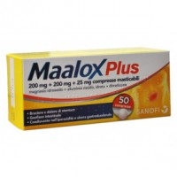 MAALOX PLUS*50CPR MAST